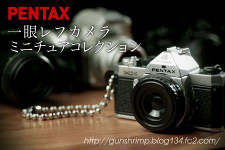PENTAX 一眼レフカメラミニチュアコレクション