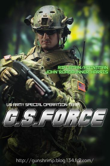 G.S.FORCE RIFLEMAN