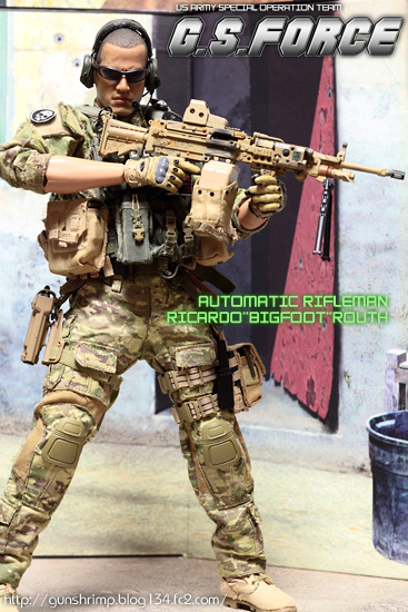 G.S.FORCE AUTOMATIC RIFLEMAN