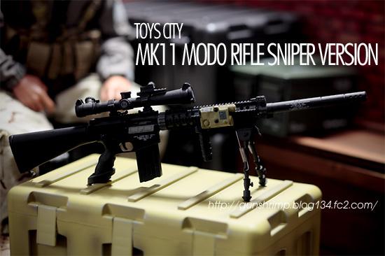 TOYS CITY MK11 MOD0 RIFLE SNIPER VERSION