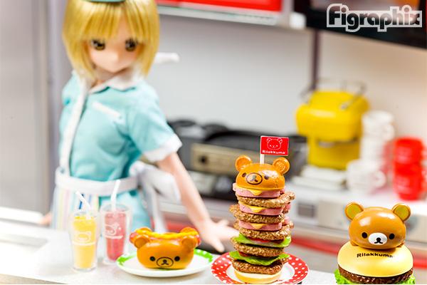 リーメント リラックマ まくまくハンバーガー