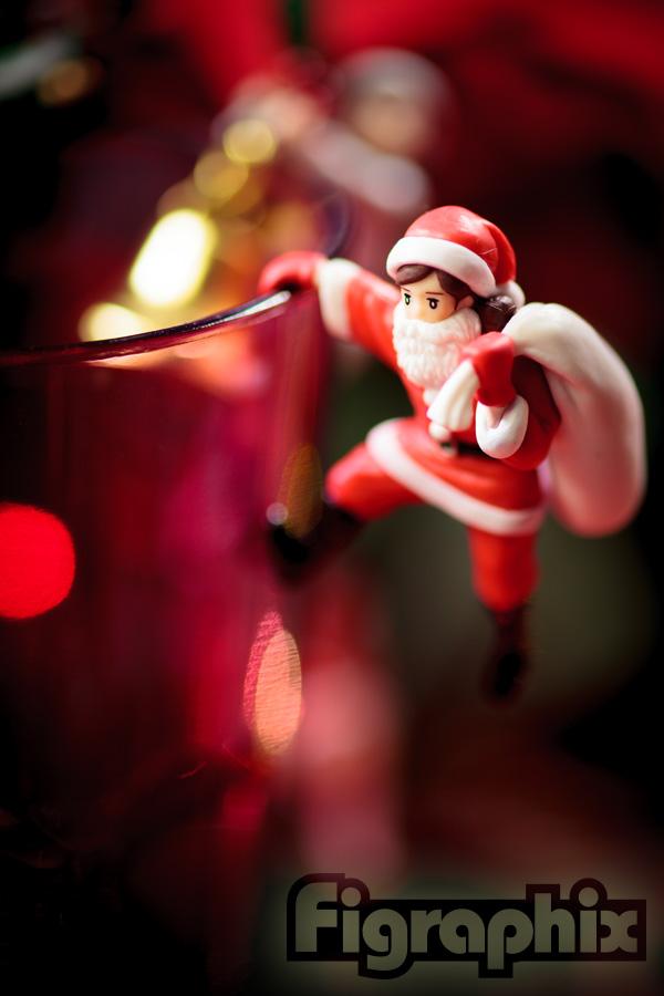 コップのフチ子 クリスマス